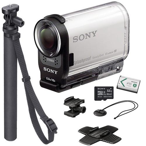 sony hdr as200v hd action cam summer kit b h photo video. Black Bedroom Furniture Sets. Home Design Ideas