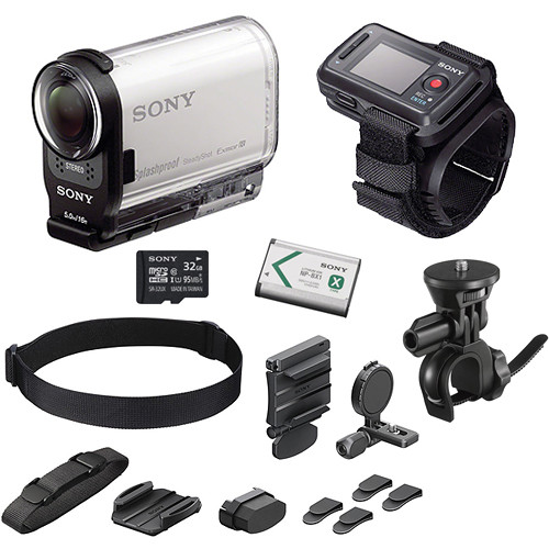 sony hdr as200v hd action cam bicycle kit with live view. Black Bedroom Furniture Sets. Home Design Ideas