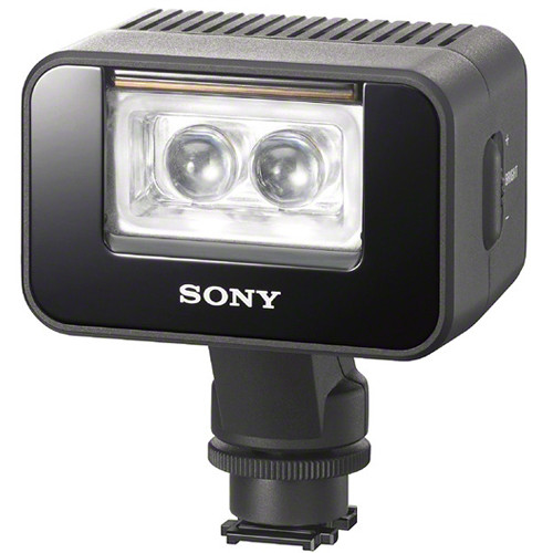 sony handycam yellow flashing light