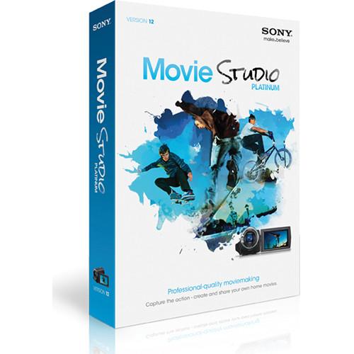 Sony Movie Studio 12 Video Editing Software MASPMS12000 B&H