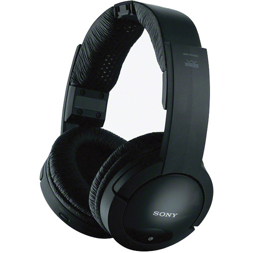 Sony mdrrf985rk wireless headphone system on tv audio transmitter to headset