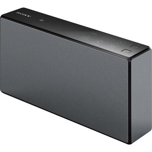 sony srs x55 portable bluetooth speaker black srsx55 blk b h. Black Bedroom Furniture Sets. Home Design Ideas