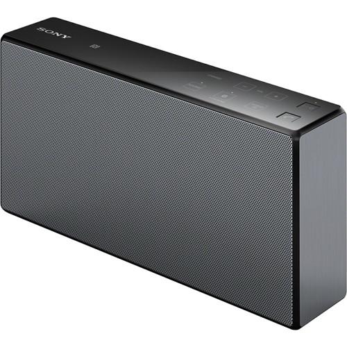 sony srs x55 portable bluetooth speaker black srsx55 blk b h. Black Bedroom Furniture Sets. Home Design Ideas