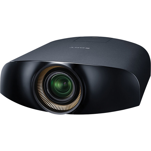 sony vpl vw1100es 4k home cinema projector vpl vw1100es b h. Black Bedroom Furniture Sets. Home Design Ideas