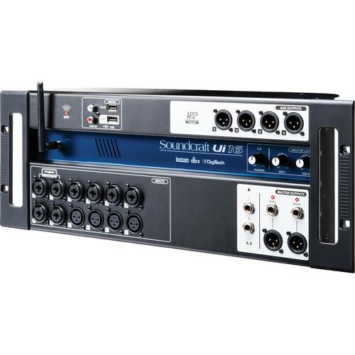 soundcraft ui16 16 input remote controlled digital mixer 5056219. Black Bedroom Furniture Sets. Home Design Ideas