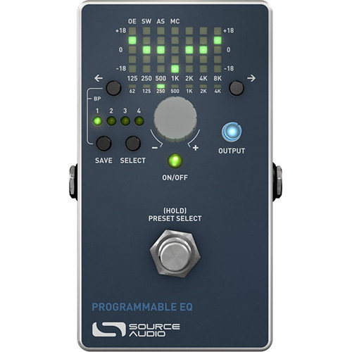 source audio toolblox programmable eq pedal for electric sa170. Black Bedroom Furniture Sets. Home Design Ideas