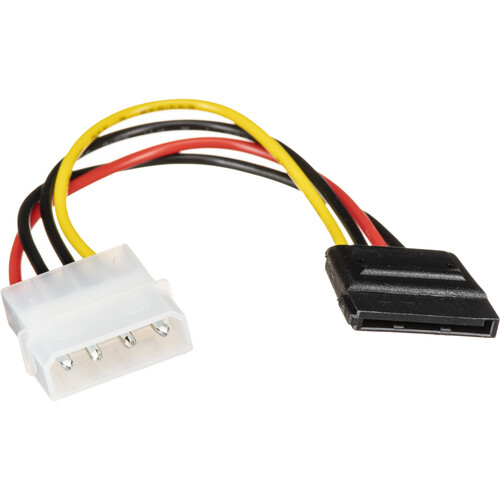 startech 4 pin molex to sata power cable adapter