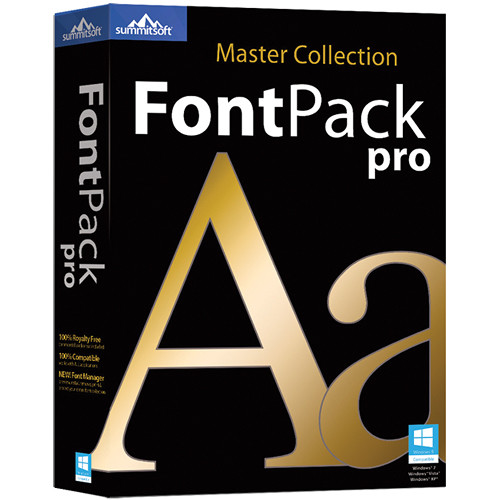 fontpack pro master collection 2015 zip