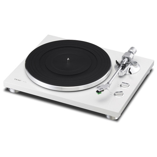 Teac TN-300 Turntable with Phono EQ and USB (White) TN-300 ...