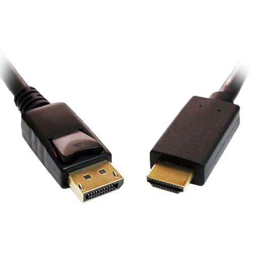 Tera Grand Displayport Male To Hdmi Male Cable 15