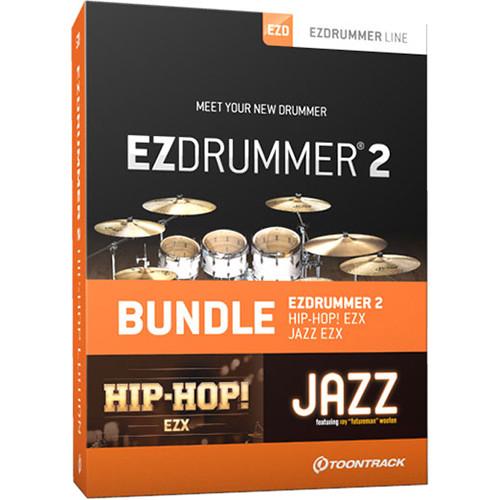 toontrack ezdrummer 2 hip hop edition virtual drums and. Black Bedroom Furniture Sets. Home Design Ideas