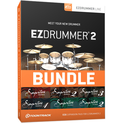 toontrack ezdrummer 2 songwriters edition ezdrummer 2 and. Black Bedroom Furniture Sets. Home Design Ideas