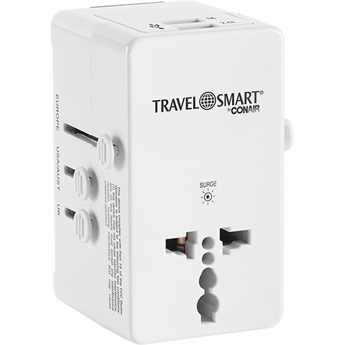 Travel Smart By Conair All In One Adapter Plug
