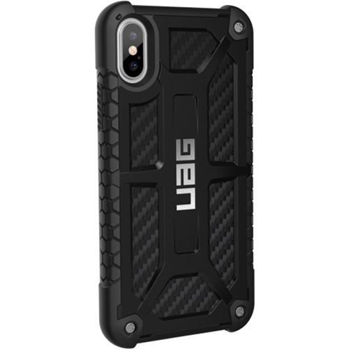 Carbon Fiber Iphone Case >> Urban Armor Gear Monarch Case For Iphone X Xs Iphx M X B H Photo