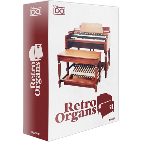 Uvi retro organs vintage organ sounds from the 1940s 1105 36 for Classic house organ sound