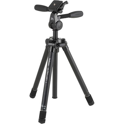 used velbon ultra luxi l tripod with phd 41q 3 way ultra luxi l. Black Bedroom Furniture Sets. Home Design Ideas