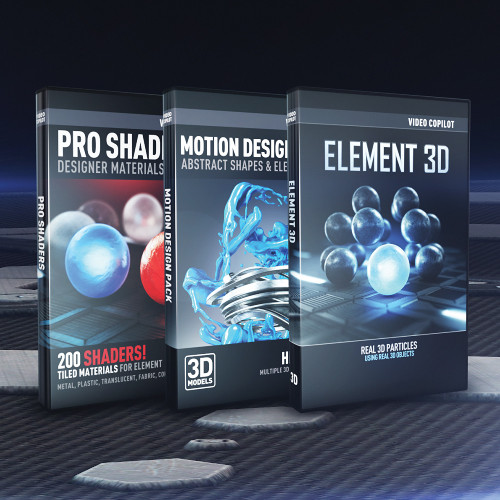 Video Copilot 3d Design Bundle Download