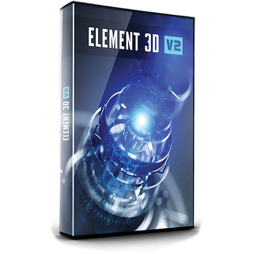 Video Copilot Element 3D V2 Plugin (Download) E3DV2 B&H Photo