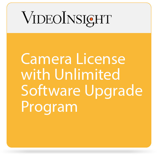 Video Insight Camera License With Unlimited Upgrade Program