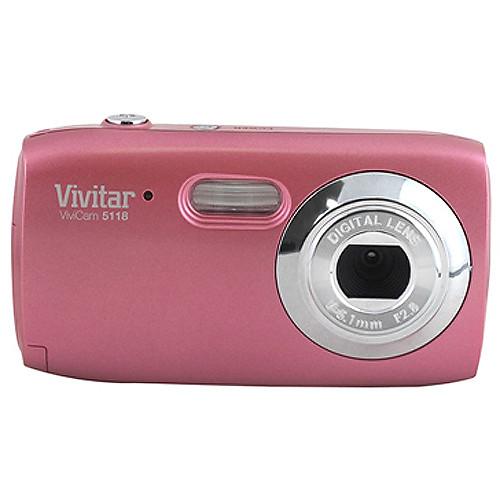 vivitar vivicam 5118 digital camera cotton candy v5118 cc b h rh bhphotovideo com  vivitar vivicam 5118 manual