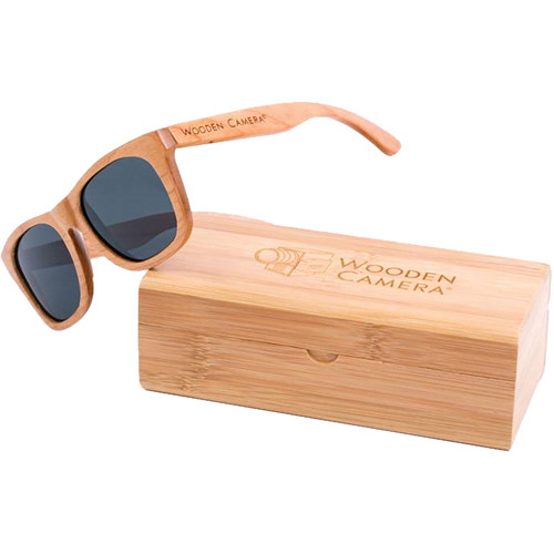 sunglasses polarised wsjk  Wooden Camera Polarized Wooden Sunglasses