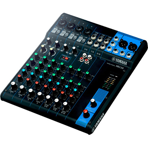 yamaha mg10 10 input mixer mg10 b h photo video. Black Bedroom Furniture Sets. Home Design Ideas