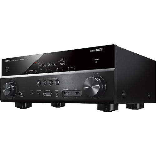 yamaha rx v781 7 2 channel network a v receiver black