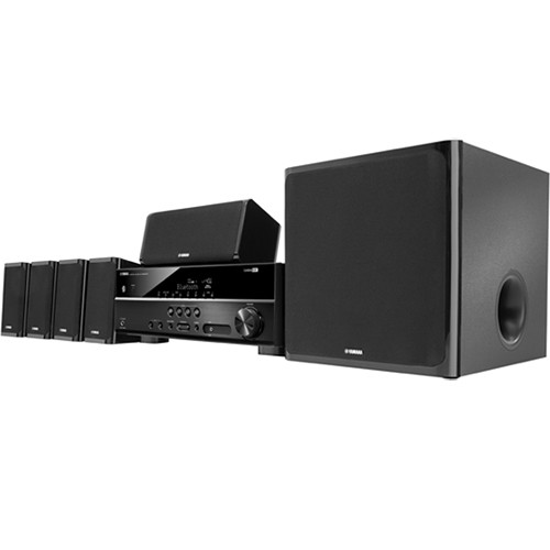 yamaha yht 4930ubl 5 1 channel home theater system yht 4930ubl. Black Bedroom Furniture Sets. Home Design Ideas