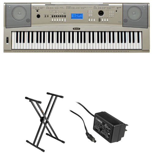 yamaha ypg 235. yamaha ypg-235 76-key portable grand keyboard kit with stand and power adapter ypg 235 g
