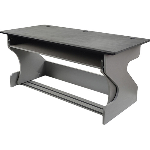 Zaor Miza Z Desk Furniture (Titanium/Wenge)