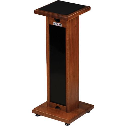 zaor miza monitor stand adjustable height black cherry