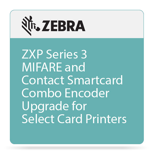 Zebra ZXP Series 3 MIFARE and Contact Smartcard Combo Encoder Upgrade for  Select Card Printers