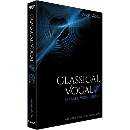 Zero g classical vocal operatic vocal phrases sample for Classic house vocal samples