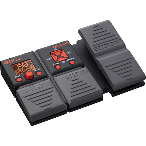 zoom b1xon multi effects bass pedal with expression pedal zb1xon. Black Bedroom Furniture Sets. Home Design Ideas