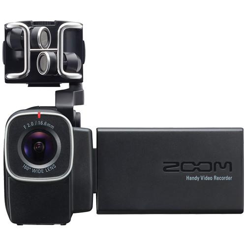 zoom q8 handy video recorder zq8 b h photo video. Black Bedroom Furniture Sets. Home Design Ideas