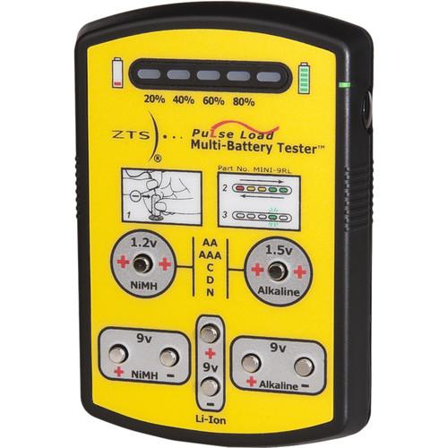 Multi Battery Tester : Zts mini rl multi battery tester b h photo video