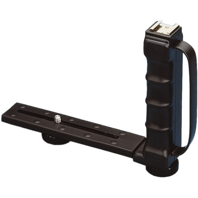 "Photography Flash Brackets: Kaiser Folding Metal ""L"" Flash Bracket 201100 B&H Photo"