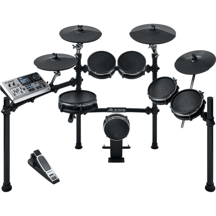 alesis dm10 mesh kit six piece electronic drum set with mesh drum heads. Black Bedroom Furniture Sets. Home Design Ideas