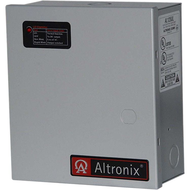 Altronix Al125ul 115vac Power Supply Charger For Access