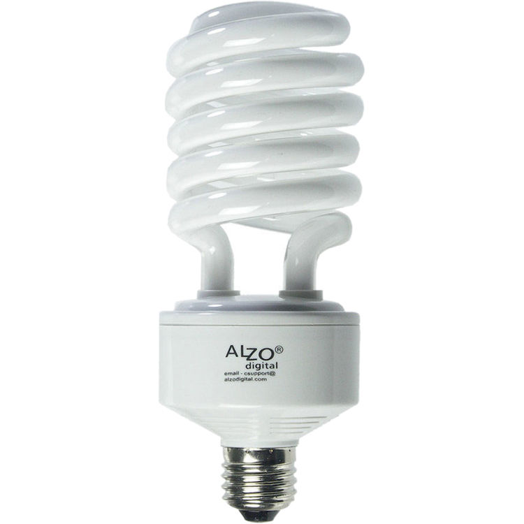 Delightful ALZO CFL Photo Light Bulb (45W, 120V)