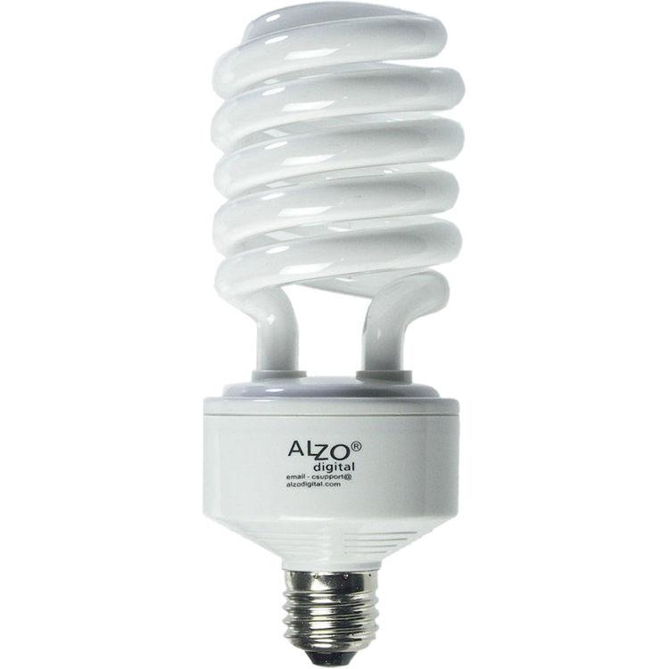 Alzo Cfl Photo Light Bulb 45w 120v 1146 55 B H Photo Video