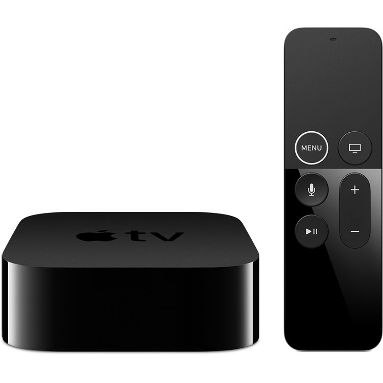 apple tv 4k 64gb mp7p2ll a b h photo video. Black Bedroom Furniture Sets. Home Design Ideas