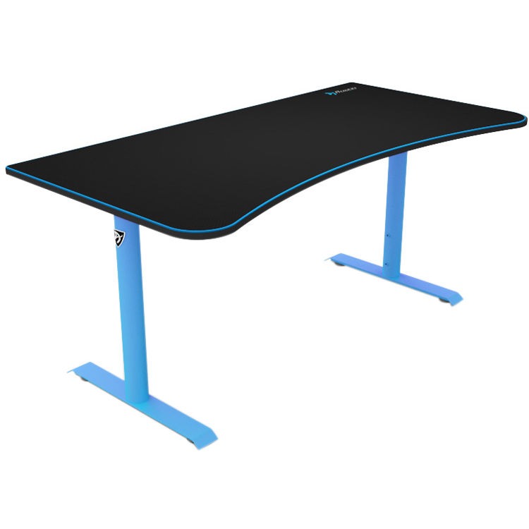 Arozzi Arena Gaming Desk Blue Arena Na Blue B Amp H Photo Video