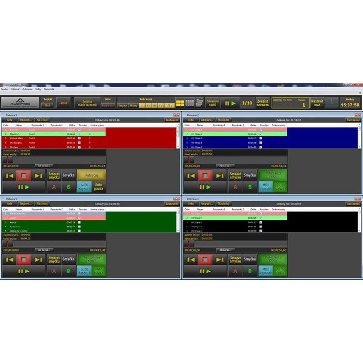 AUDIFIED SceneFlow Pro - Multi-Player Audio Software AUD-SFP B&H