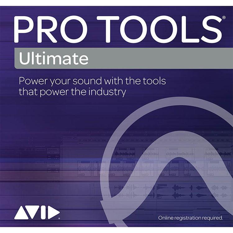 Avid Pro Tools Ultimate Perpetual License Audio 99357183200