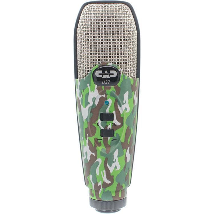 cad u37 usb studio condenser recording microphone u37se c b h. Black Bedroom Furniture Sets. Home Design Ideas