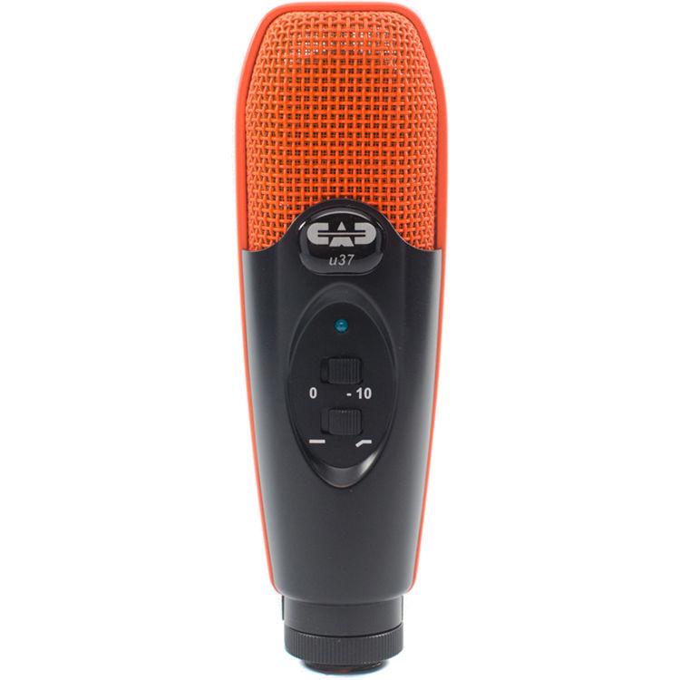 cad u37 usb studio condenser recording microphone u37se or b h. Black Bedroom Furniture Sets. Home Design Ideas