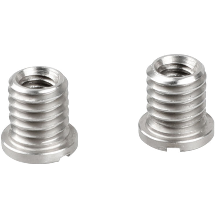 Silver Camera Screw 1//4 to 3//8 Stainless Steel Screw for Tripod Heads