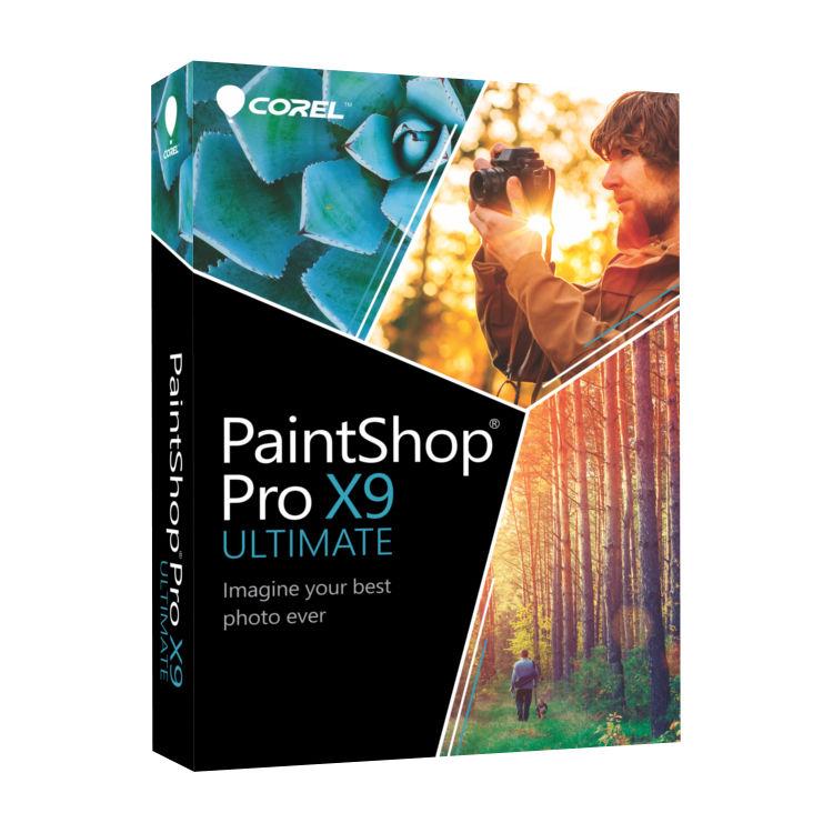 Corel Paintshop Pro X9 Ultimate Dvd Pspx9ulenmbam B H Photo