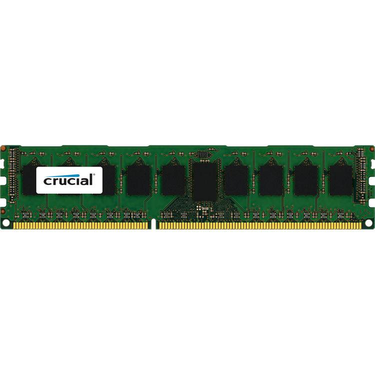 Crucial 4gb Ddr3l 1600 Mhz Udimm Memory Module Ct51264bd160b B H